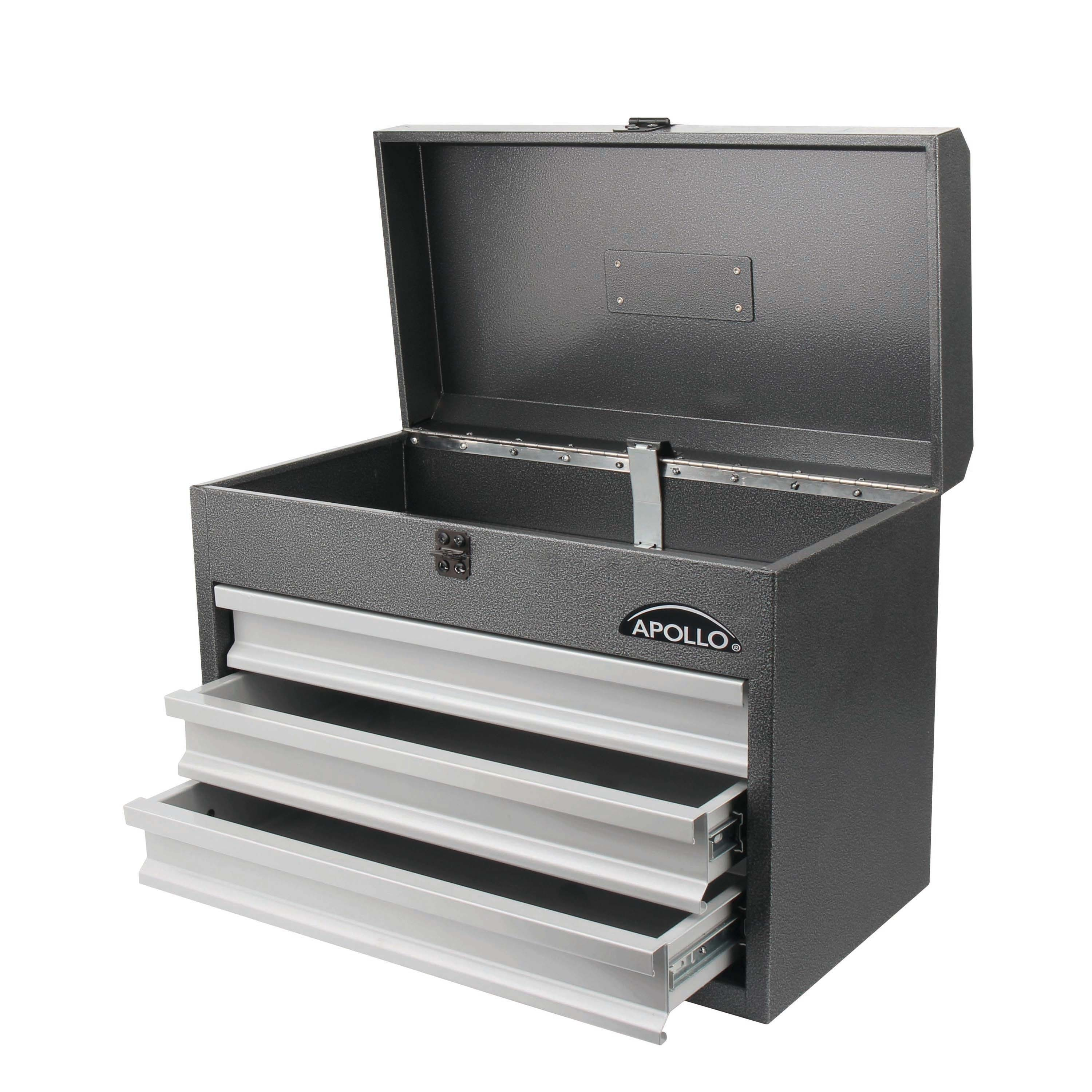 Shop 300 Piece All Purpose Mechanics Tool Kit In Heavy Duty 3 Drawer Steel Tool  Box   Free Shipping Today   Overstock.com   14659831