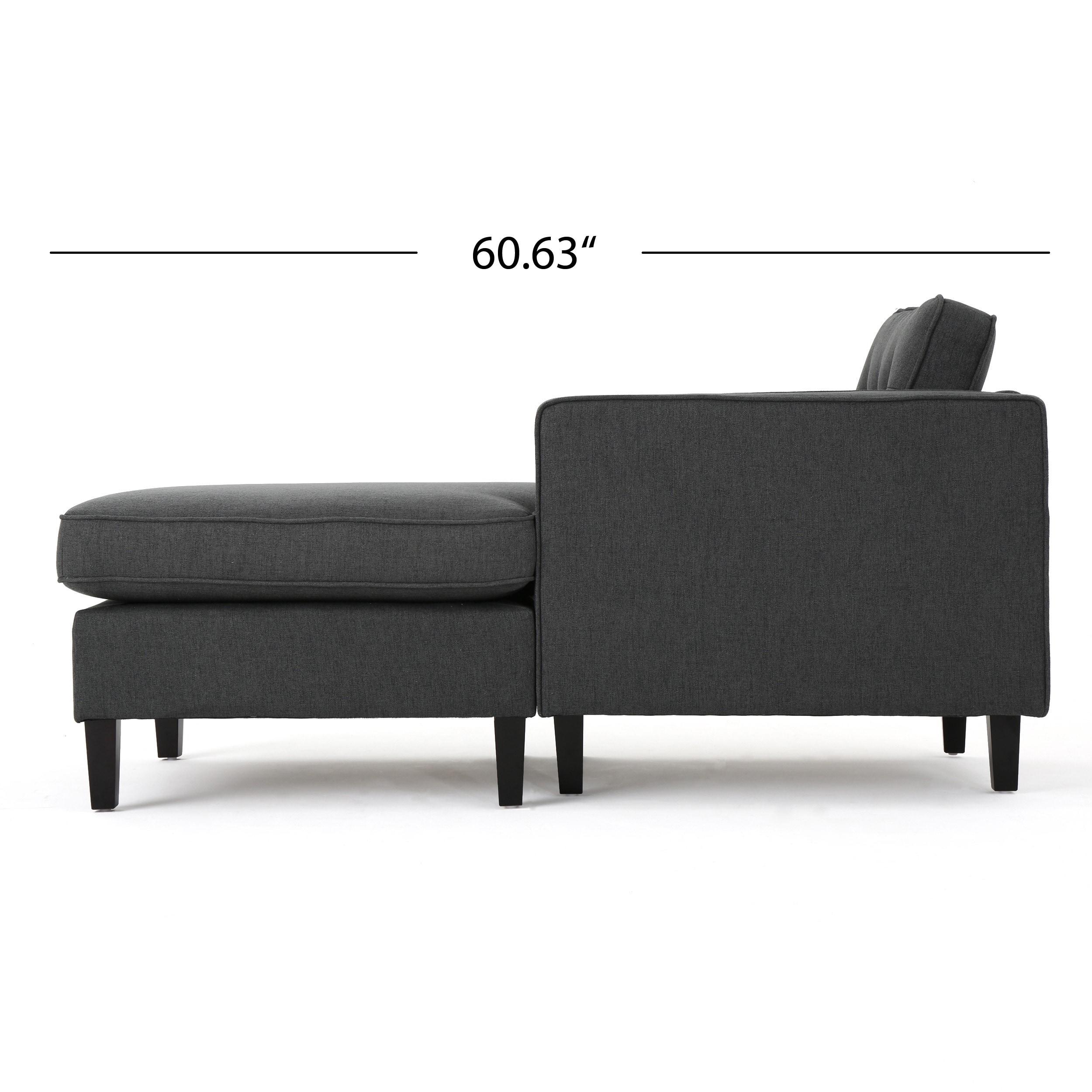 Bezaubernd Sofa Modern Referenz Von Shop Wilder Mid-century 2-piece Fabric Chaise Sectional