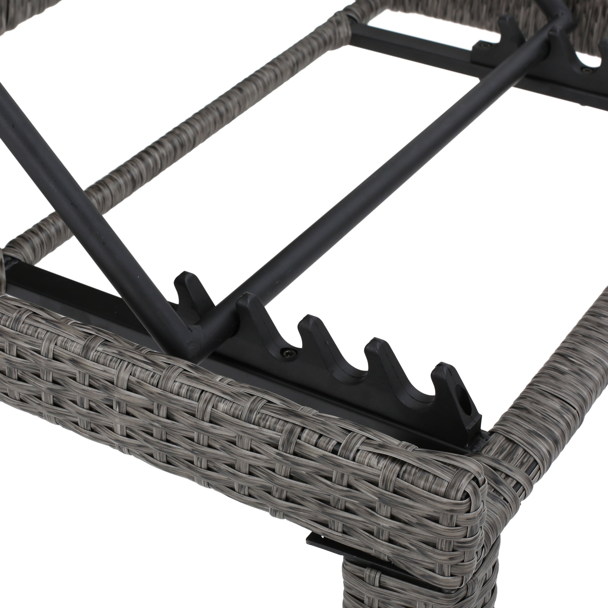 Puerta Outdoor 10-piece Wicker Patio Set with Cushions by ...