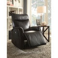 Risona Traditional Bonded Leather Power Recliner