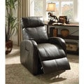 Ricardo Traditional Faux Leather Power Recliner