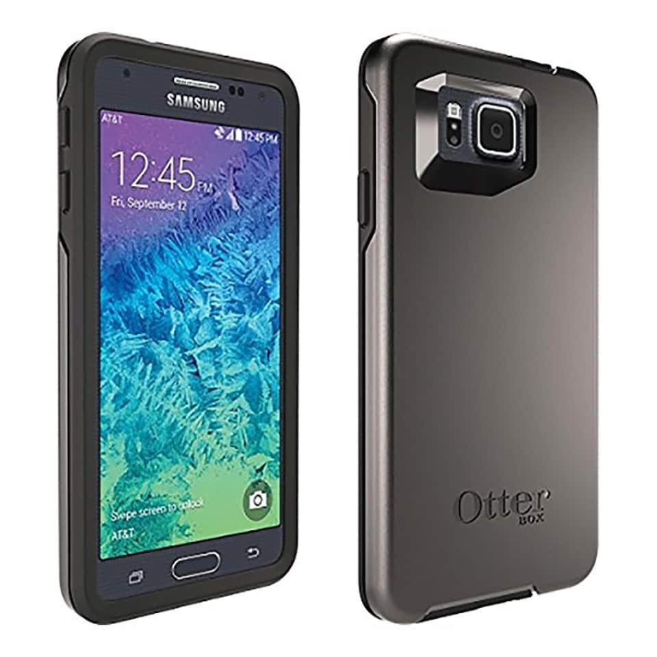 timeless design 9ea7c e812d Samsung Galaxy Alpha G850A 32GB AT&T Unlocked GSM LTE 4G LTE Octa-Core  Phone - Black + OtterBox Symmetry Case - Black