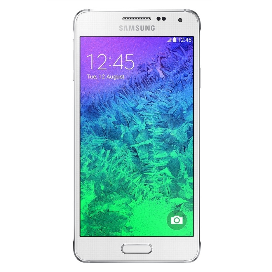 wholesale dealer 1ee49 7f7e9 Samsung Galaxy Alpha G850A 32GB AT&T Unlocked GSM LTE 4G LTE Octa-Core  Phone - White + OtterBox Symmetry Case - Black