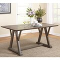 Simple Living Herabrown Dining Table