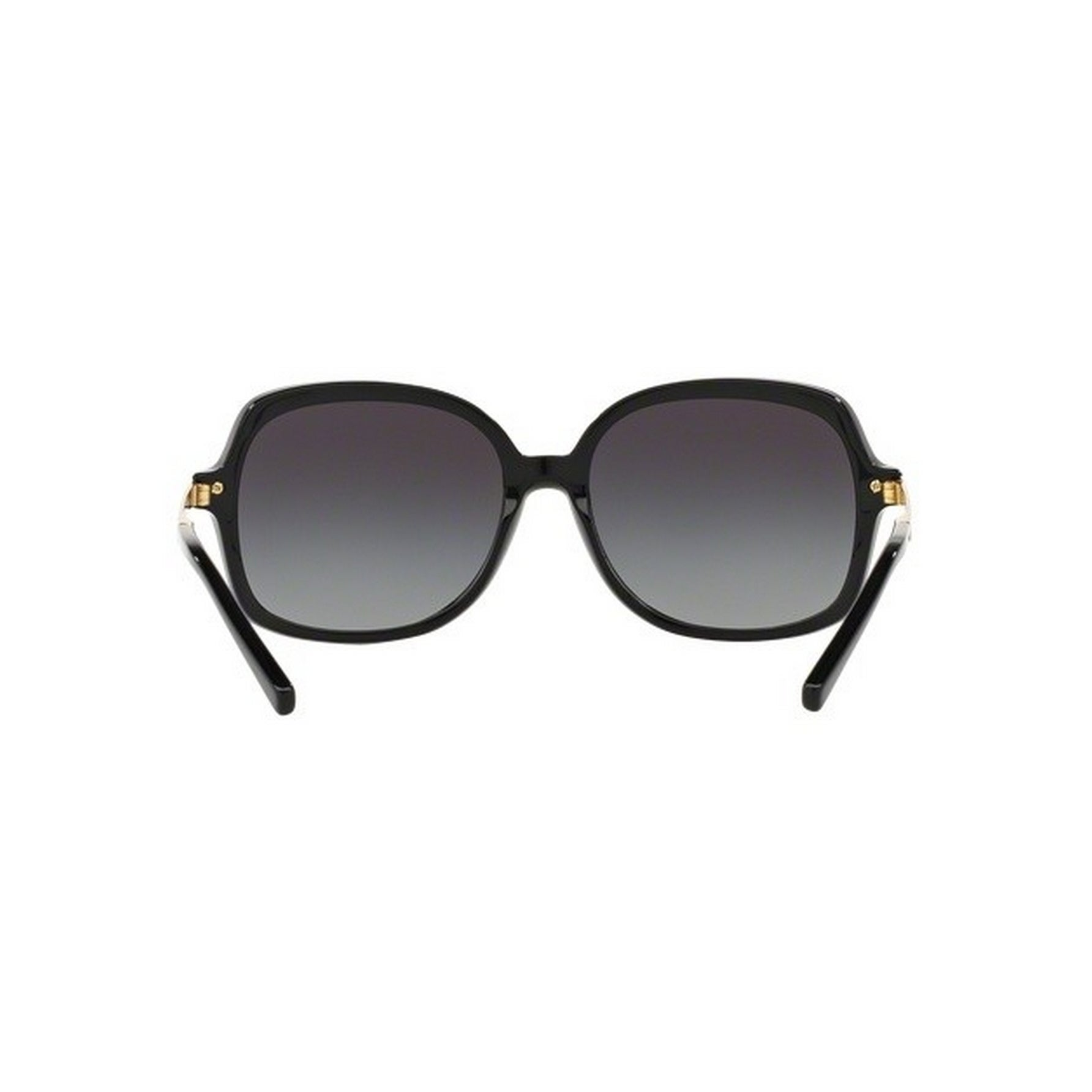 dc3757d842870 Shop Michael Kors Women s MK2024 316011 57 Square Metal Plastic Black Grey  Sunglasses - Free Shipping Today - Overstock.com - 14692019