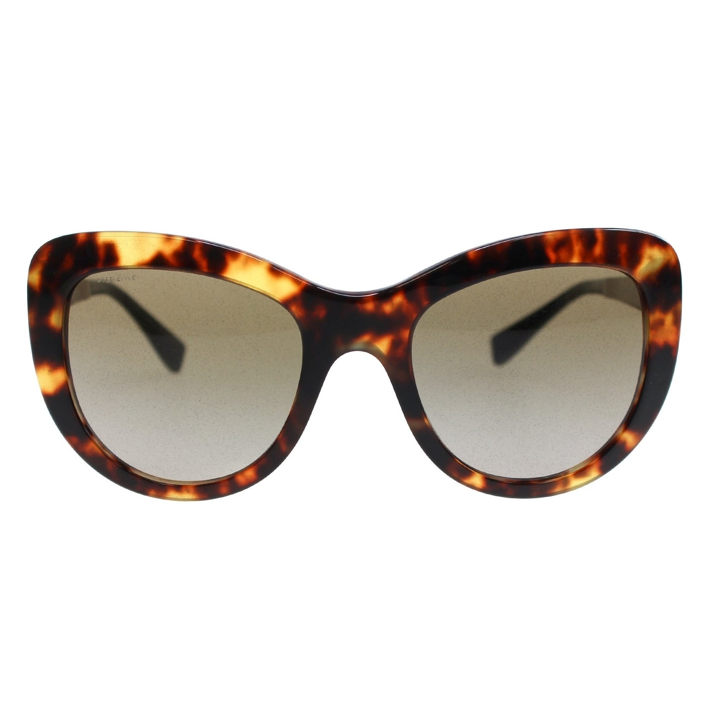 c0c05cccbc0d Shop Versace Women s VE4325 520813 54 Cateye Metal Plastic Brown Brown  Sunglasses - Free Shipping Today - Overstock.com - 14692037