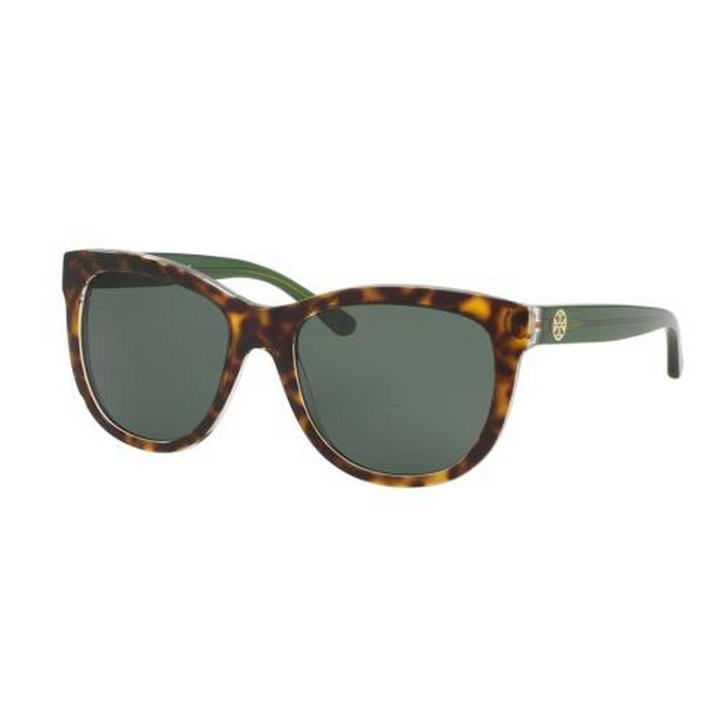 99bb220a8e Shop Tory Burch TY7091 Womens Havana Frame Green Lens Square Sunglasses -  Tortoise - Free Shipping Today - Overstock - 14692298