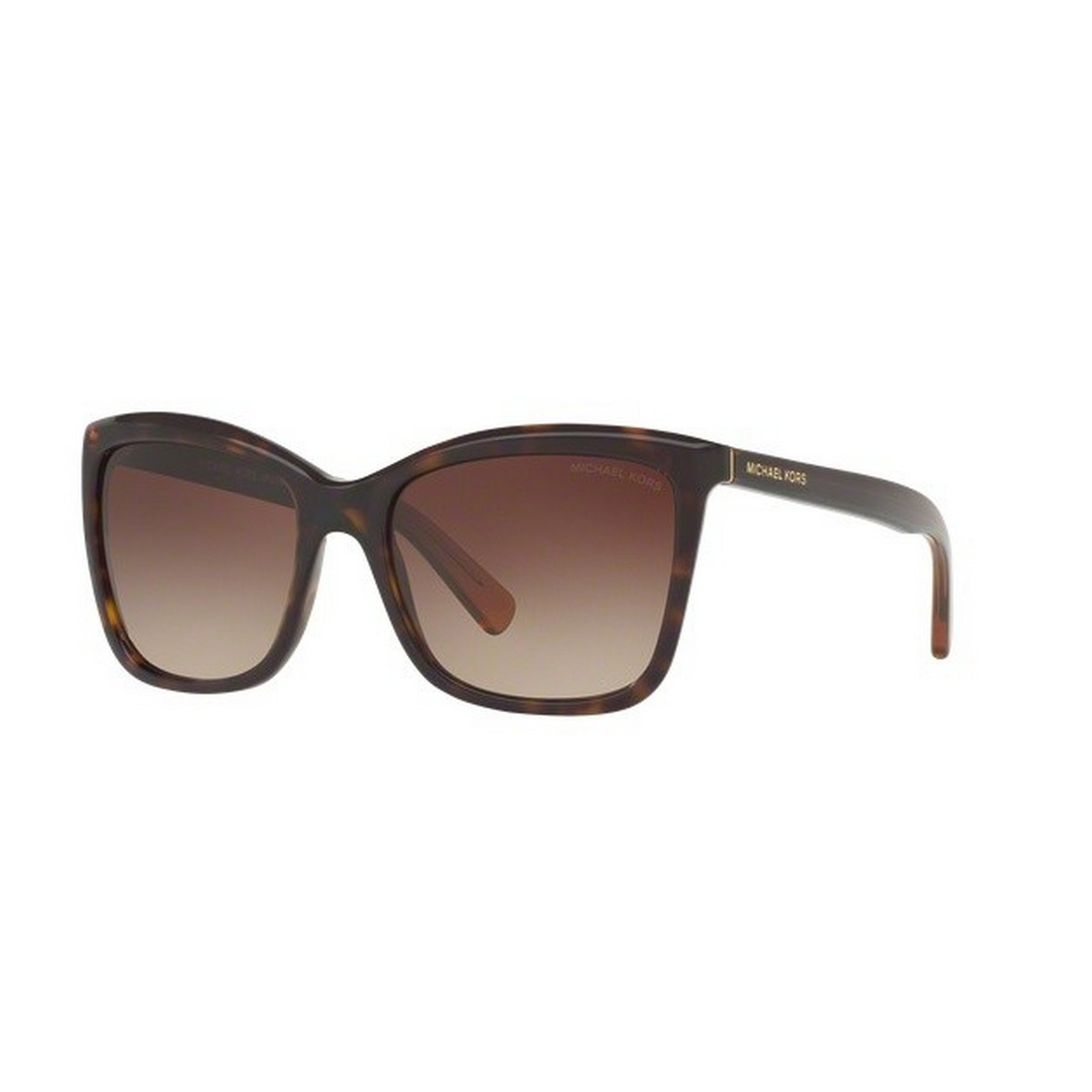 bdb1be1f74bc Shop Michael Kors Women's MK2039F 321713 55 Square Plastic Havana Smoke  Sunglasses - Free Shipping Today - Overstock - 14692731