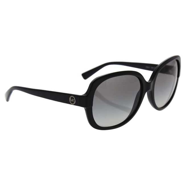 9c730d59c1 Shop Michael Kors Women s MK6017 300511 58 Square Plastic Black Grey  Sunglasses - Ships To Canada - Overstock - 14693035