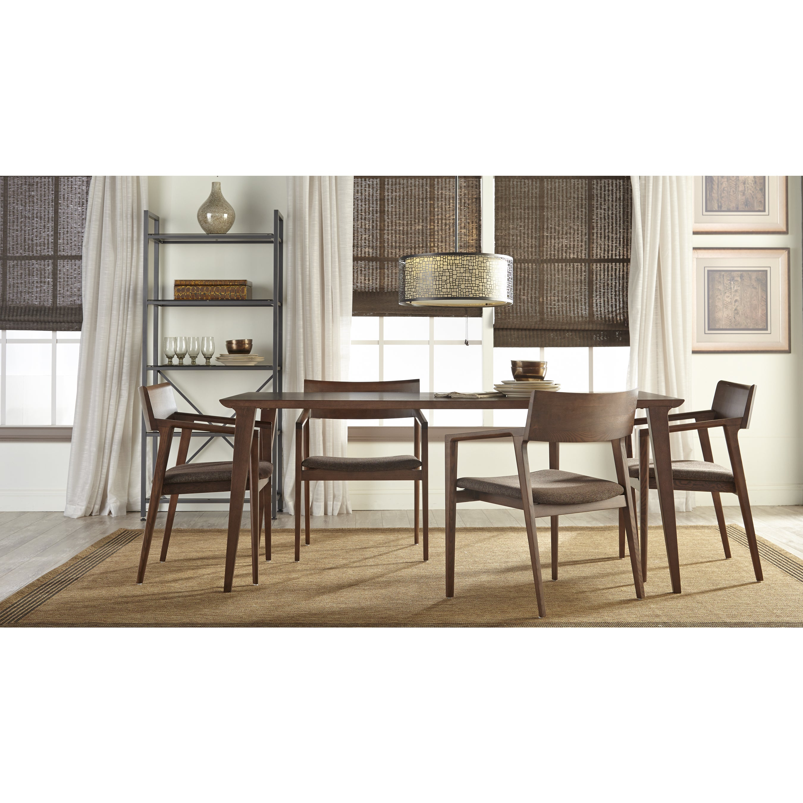 Daffodil Dining Table Walnut Free Shipping Today 21239511