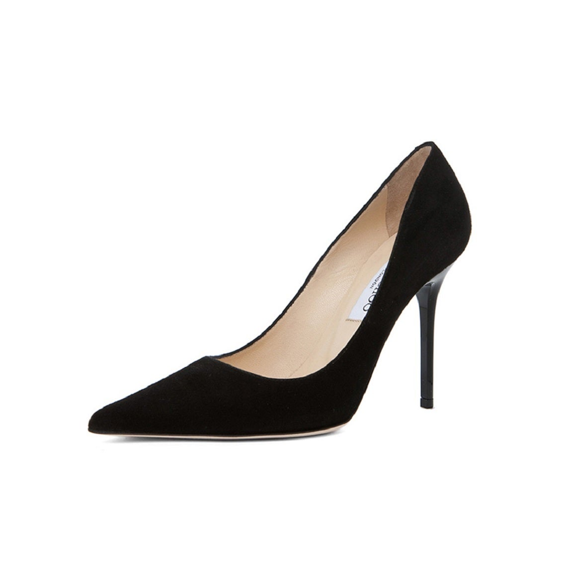 60751e4f772 Shop Jimmy Choo Abel Black Suede Pumps - Ships To Canada - Overstock.ca -  14720298