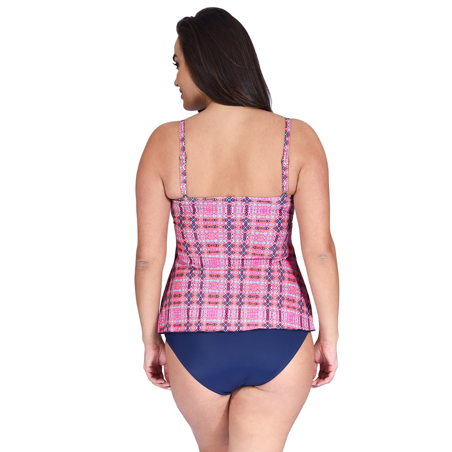 dc8e55aa171 Shop Drape Bandeau Plus Size Women's Tankini Top by Mazu Swim - Free  Shipping On Orders Over $45 - Overstock - 14724935
