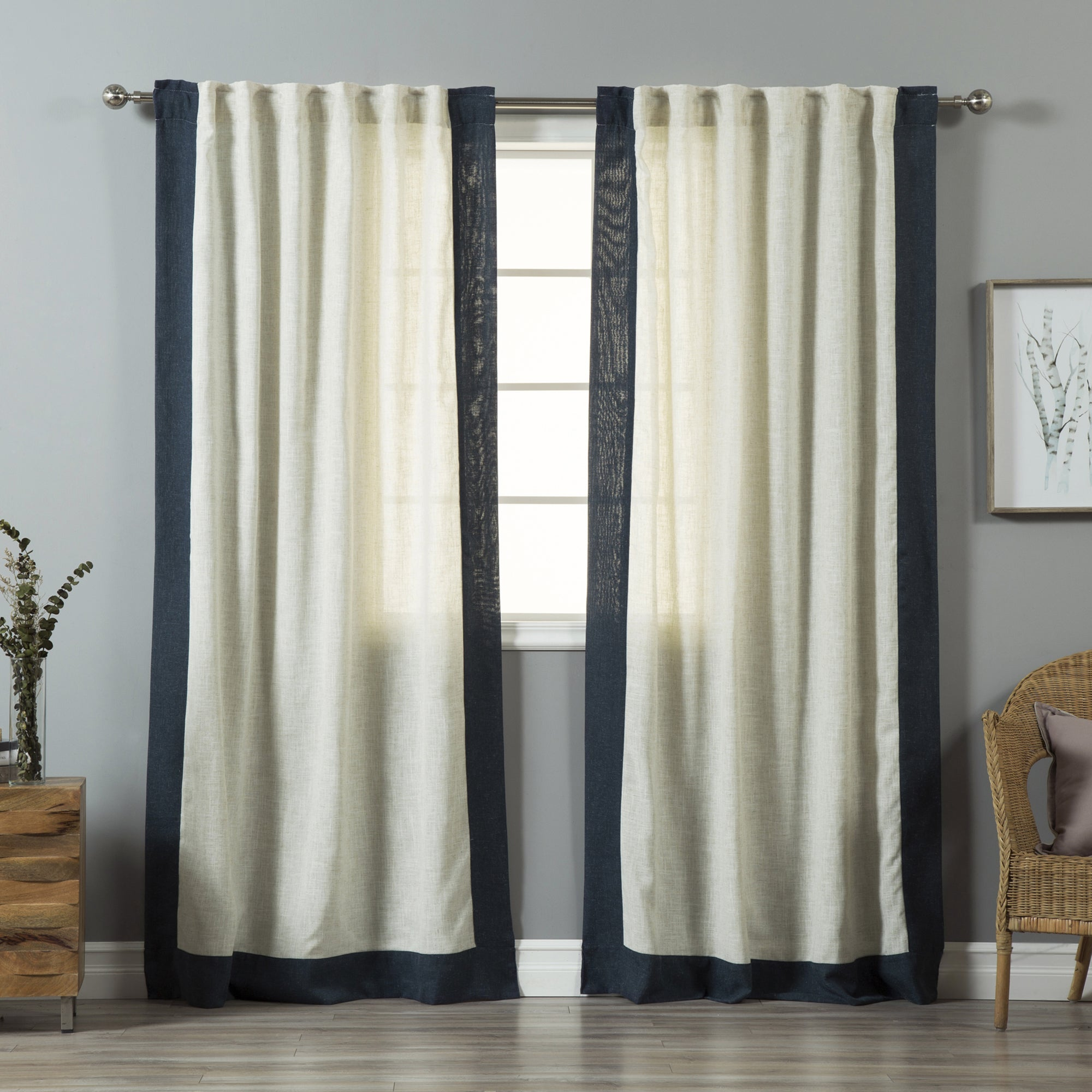 fabric gray curtain linen curtains washed of picture coffee awesome cheap tables shower yellow