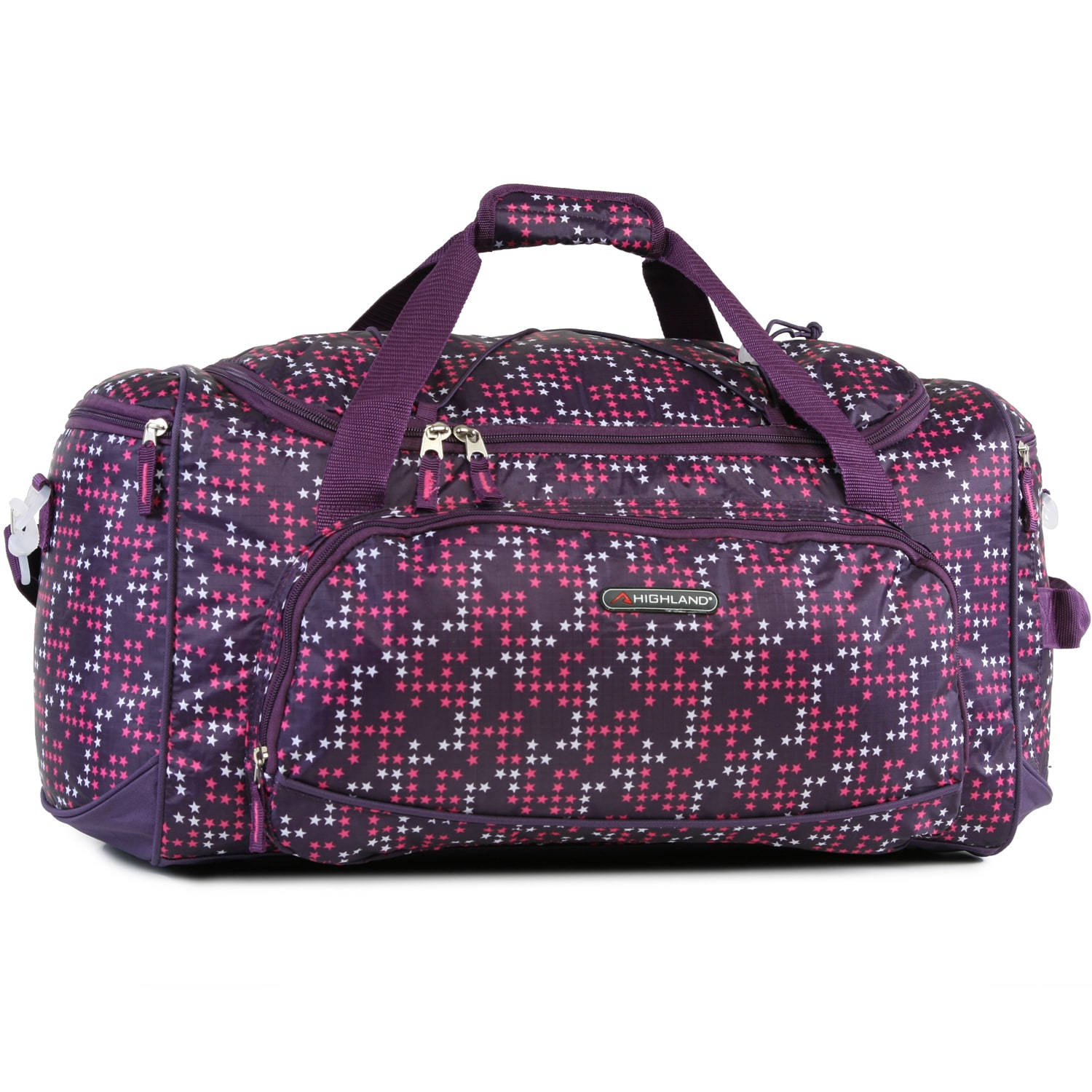 c28ee03f98 Shop Pacific Coast Highland Twinkle Star Purple Medium 22-inch Travel  Duffel Bag - Free Shipping On Orders Over  45 - Overstock.com - 14741782