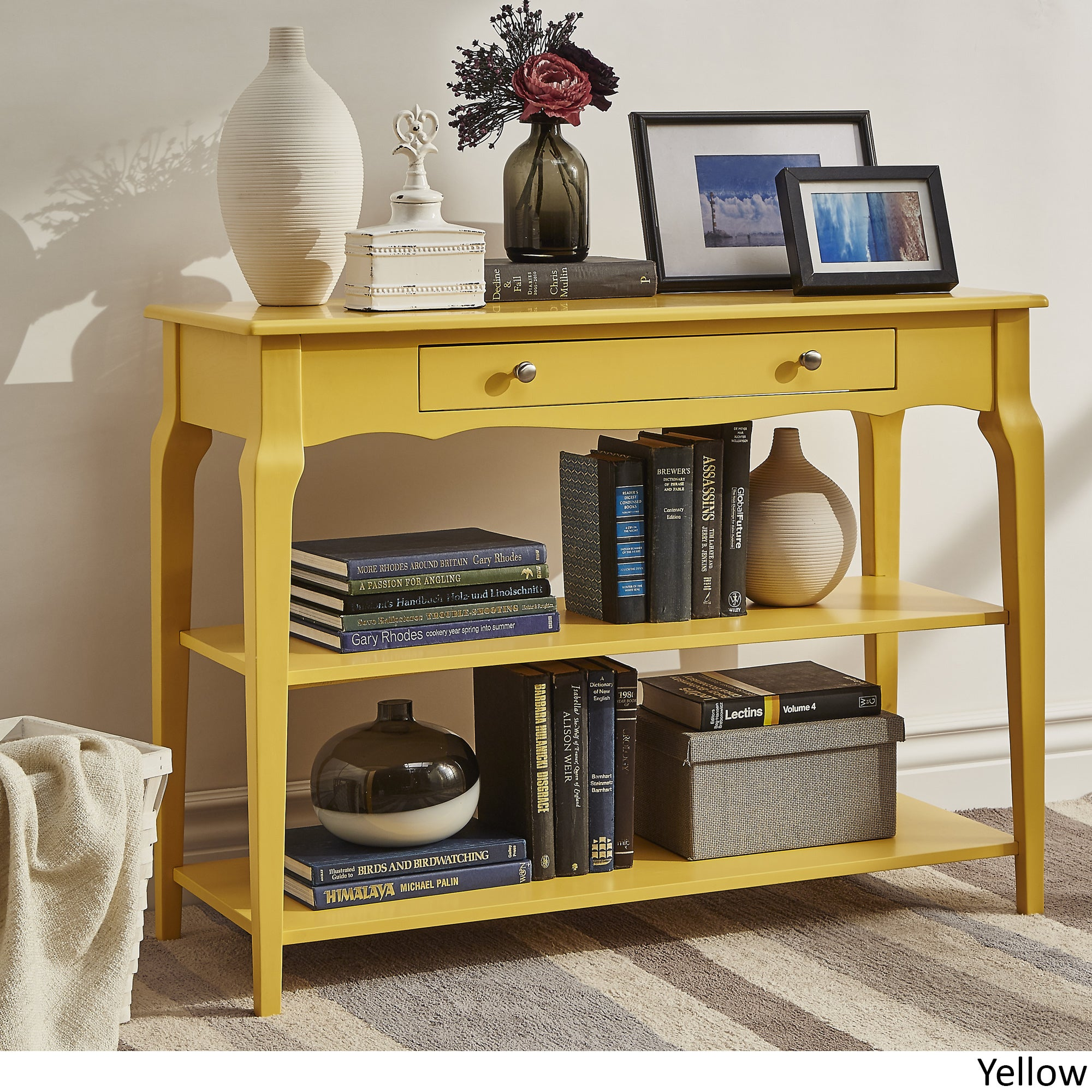 Shop Daniella Console Table TV Stand By INSPIRE Q Bold   Free Shipping  Today   Overstock.com   14742110