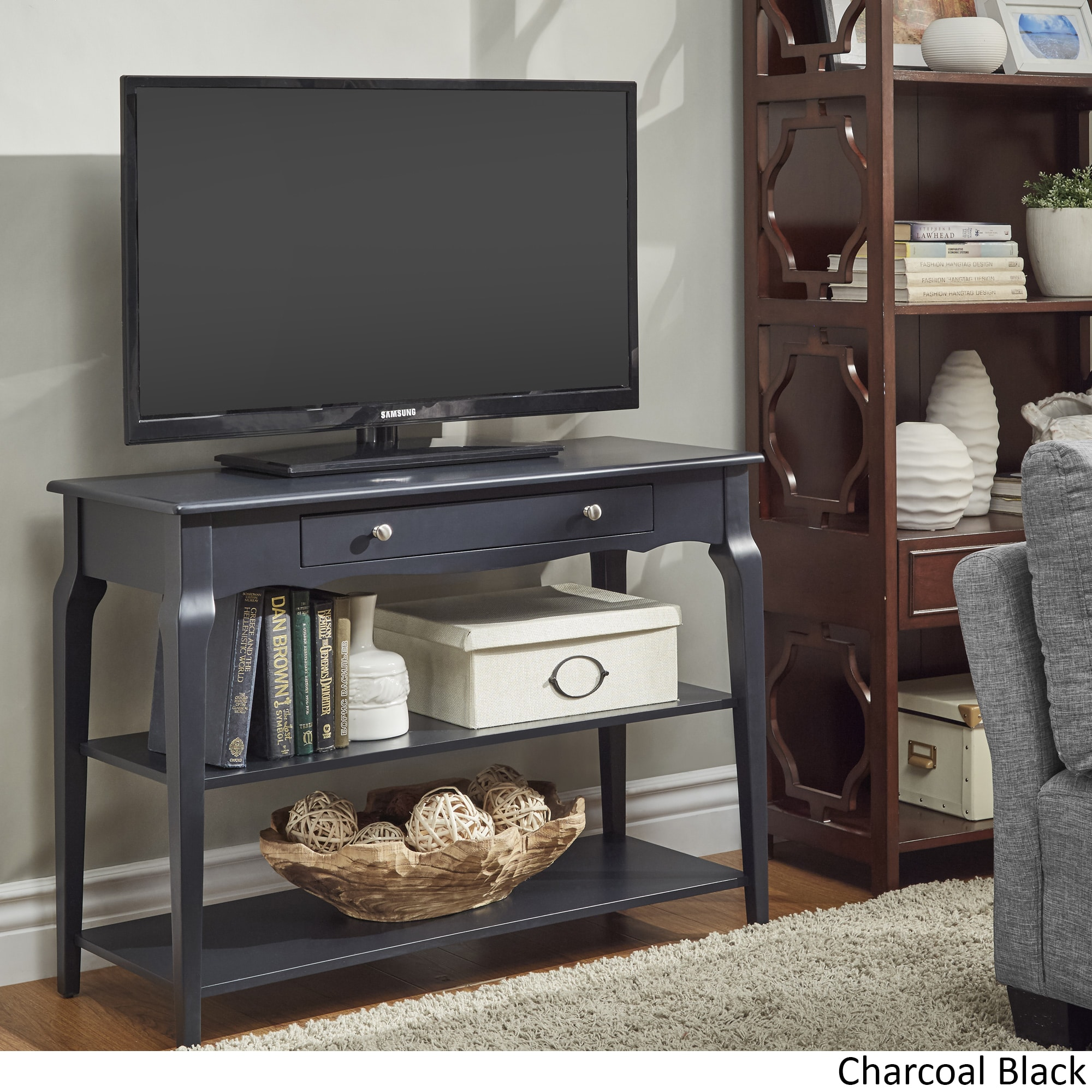 Shop Daniella Console Table TV Stand By INSPIRE Q Bold   On Sale   Free  Shipping Today   Overstock.com   14742110