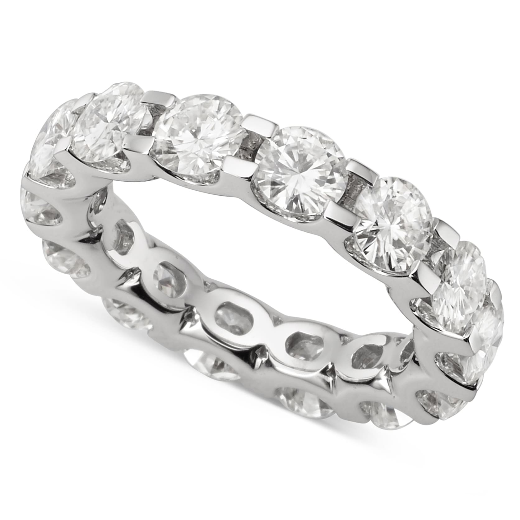 yellow eternity band in gold juno solitaire out four moissanite pin bands reach carat