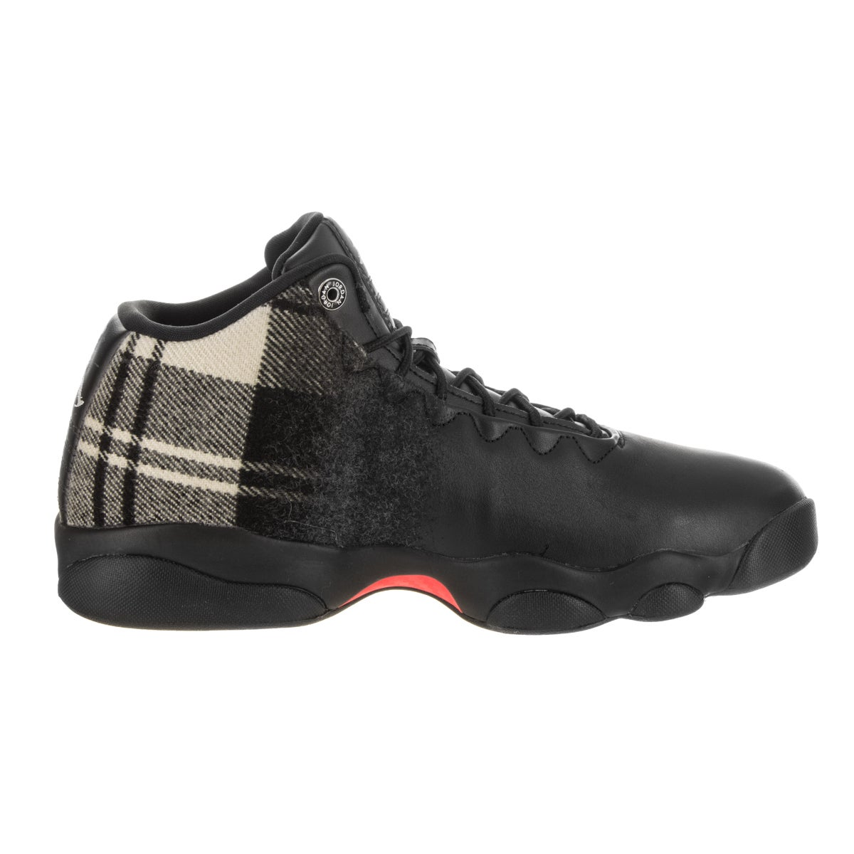 18f5909d0c8 Shop Nike Men s Jordan Horizon Low Premium Black Leather Basketball Shoe -  Free Shipping Today - Overstock - 14746813