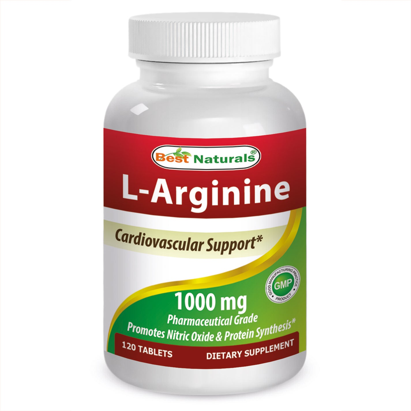 Best Naturals L-Arginine 1000mg Pharmaceutical Grade (120 Tablets) - Free  Shipping On Orders Over $45 - Overstock - 21275952
