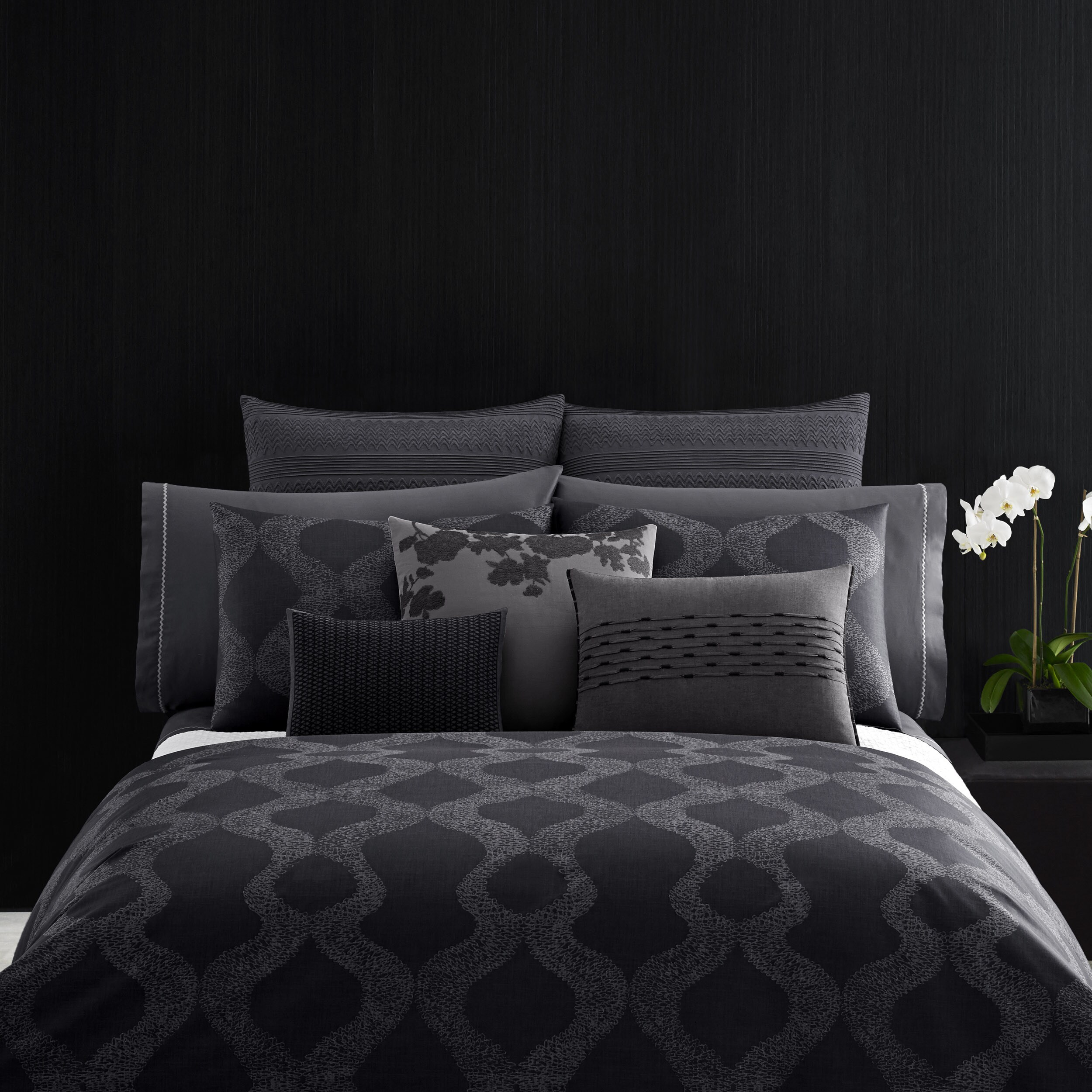 Vera Queen Size Scribble Print Duvet Cover Free Shipping Today 21281299