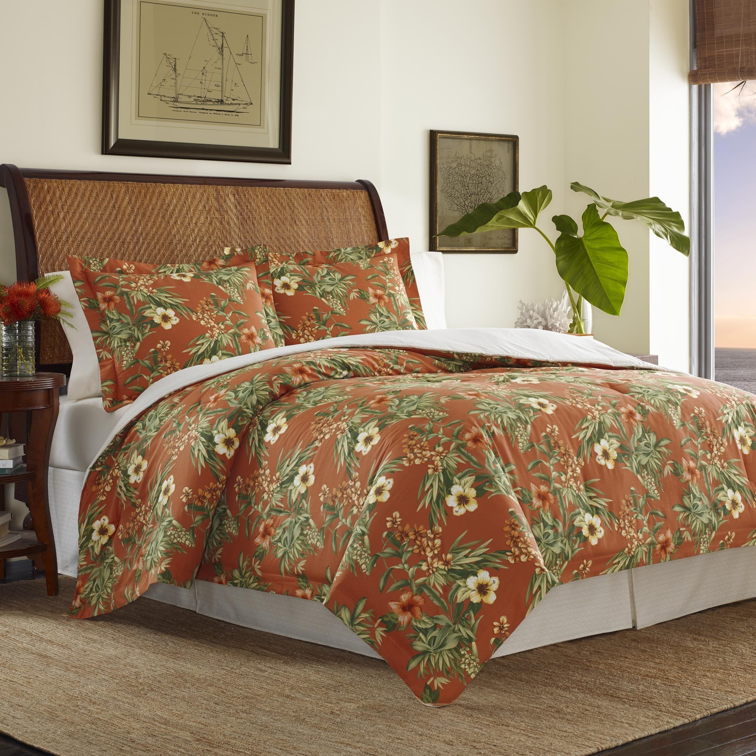 comforter tommy bahama canvas warm stripe multi set p by king bedding