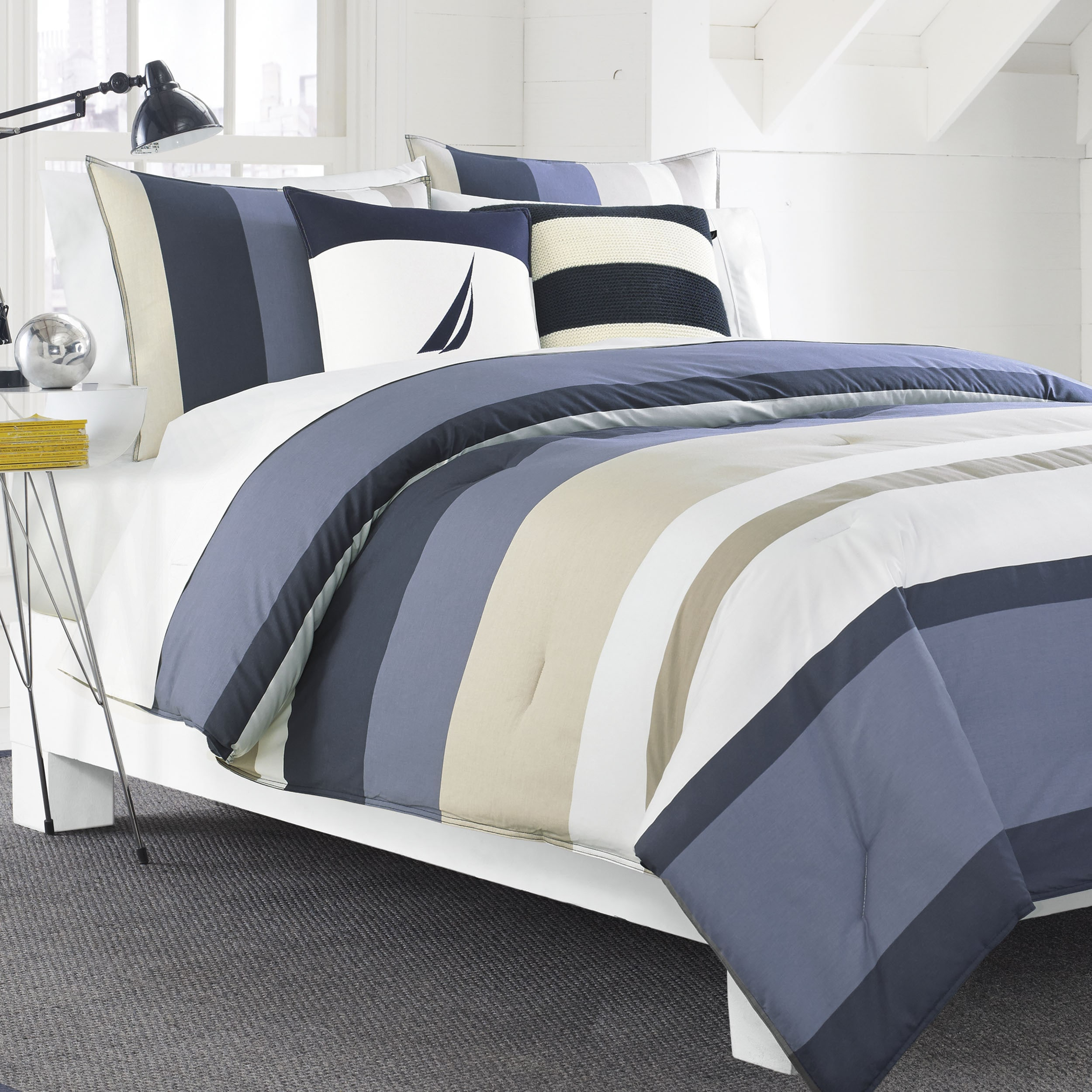 bedding home zi comforter brand nautica blue dillards collections comforters
