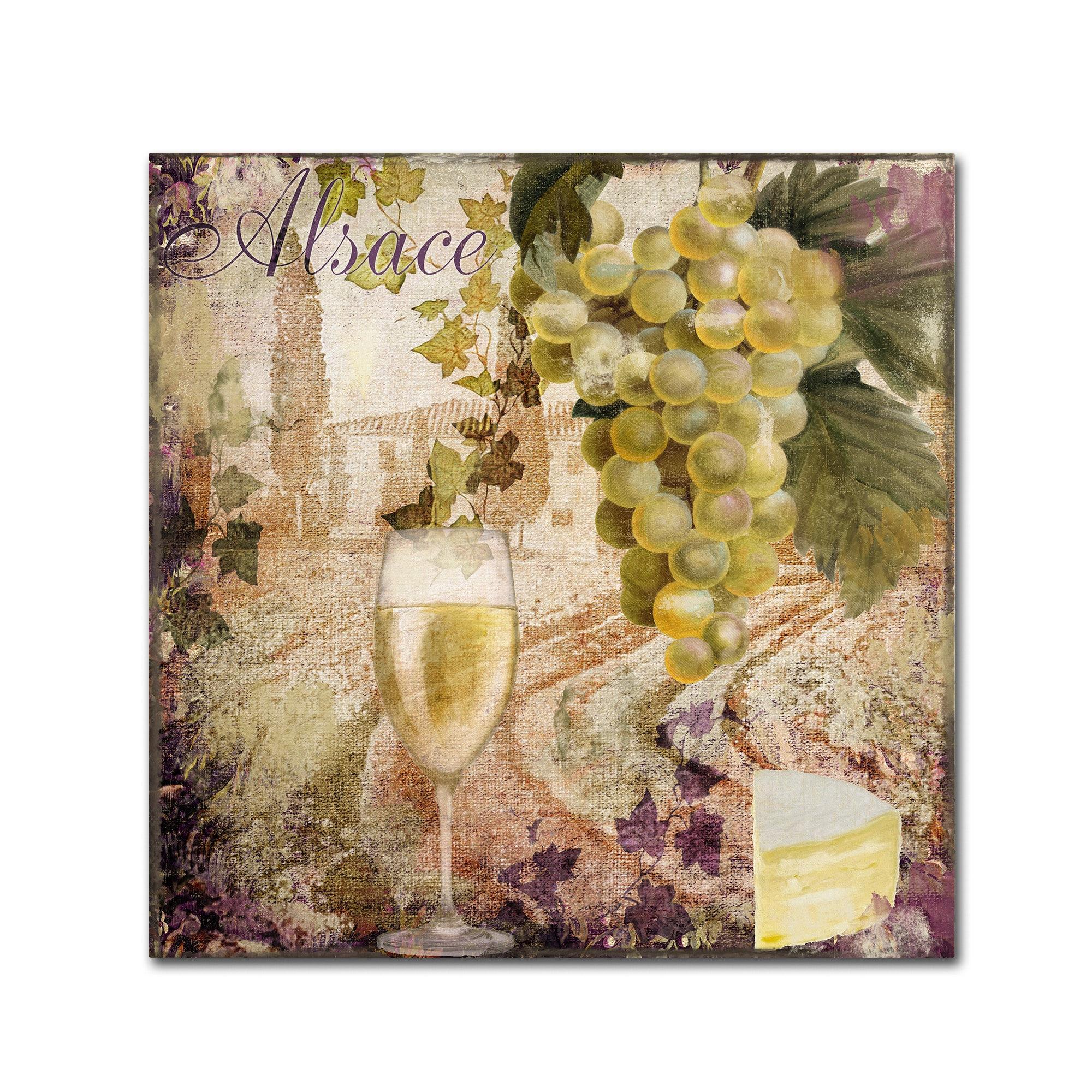 Shop Color Bakery \'Wine Country I\' Canvas Art - Brown - On Sale ...