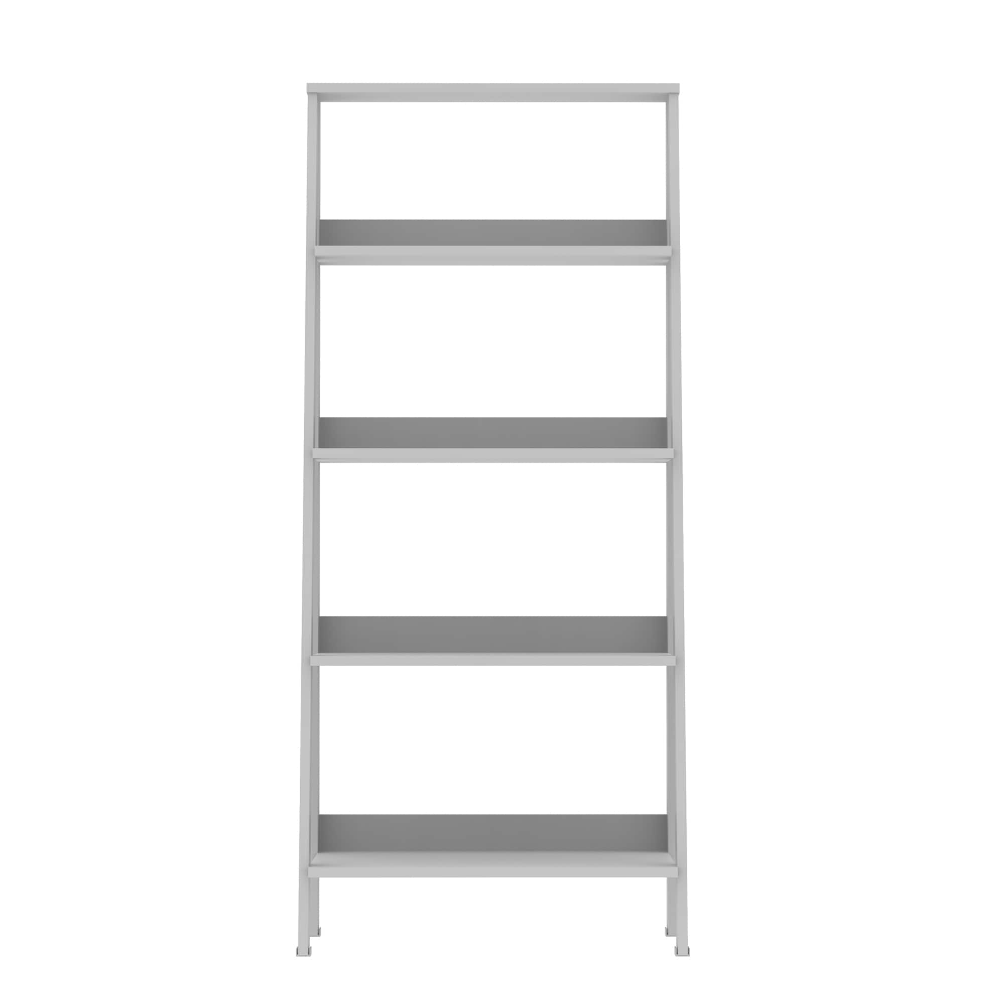 set heritage and concepts shelf match bookcase ladder of mix american choice bookcases co convenience