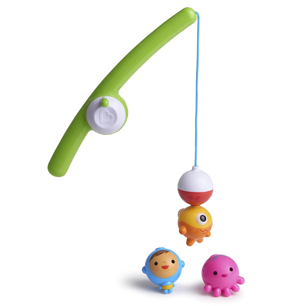 Shop Munchkin Multicolored Fishin\' Bath Toy - Free Shipping On ...