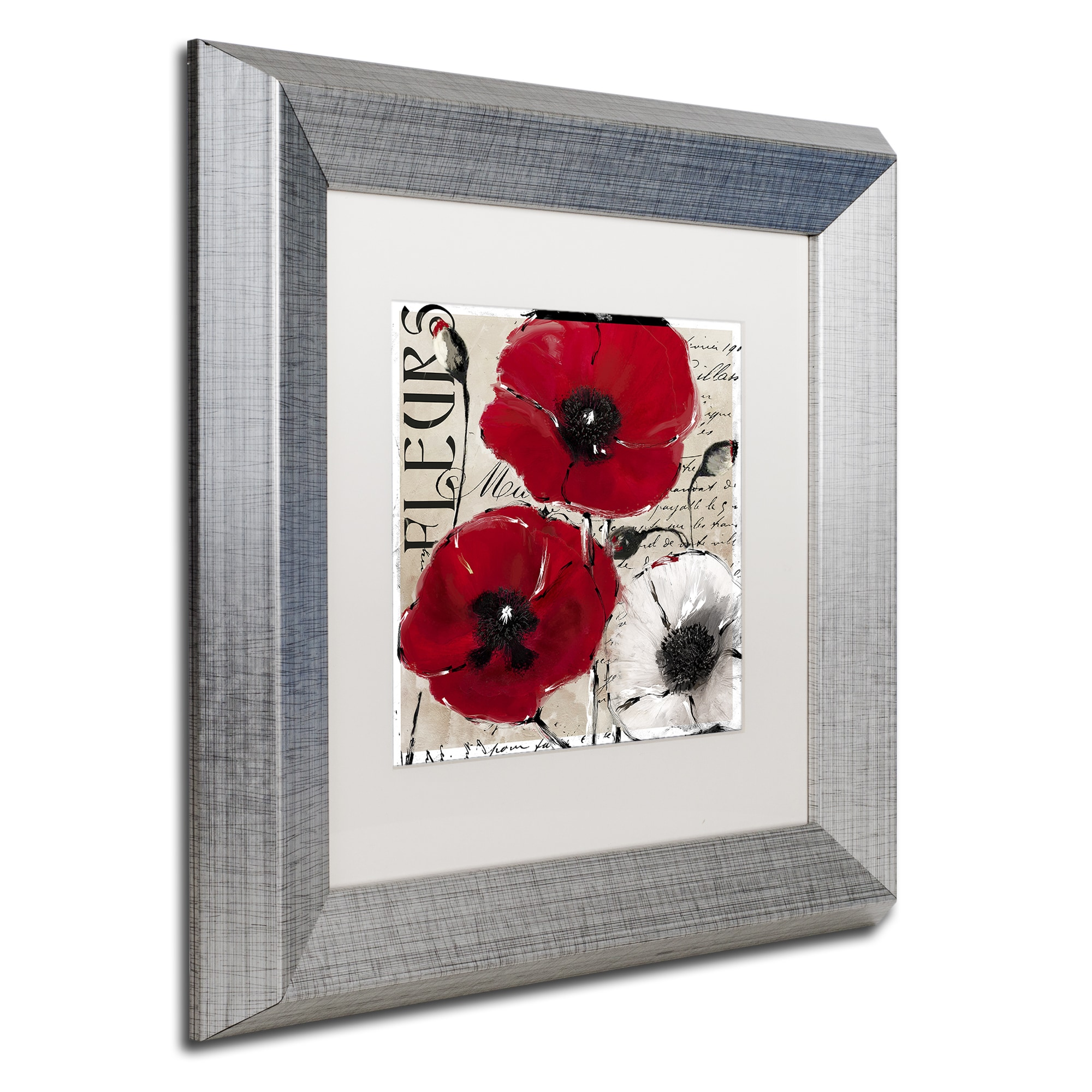 Shop Color Bakery Rouge One Matted Framed Art Red Free