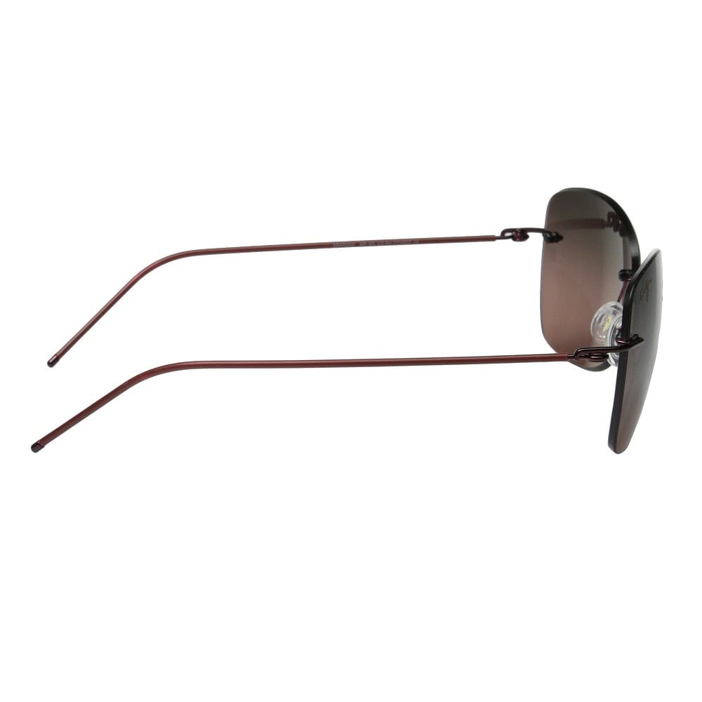 e21392317c5c Shop Maui Jim Apapane RS717-07 Unisex Burgundy Red Frame Maui Rose Lens  Sunglasses - Free Shipping Today - Overstock - 14772180