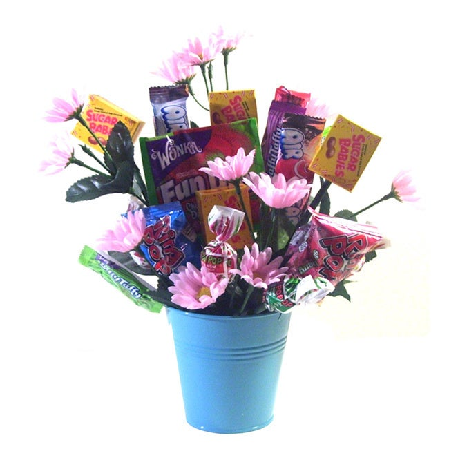 Spring Flowers Candy Bouquet - Free Shipping On Orders Over $45 ...
