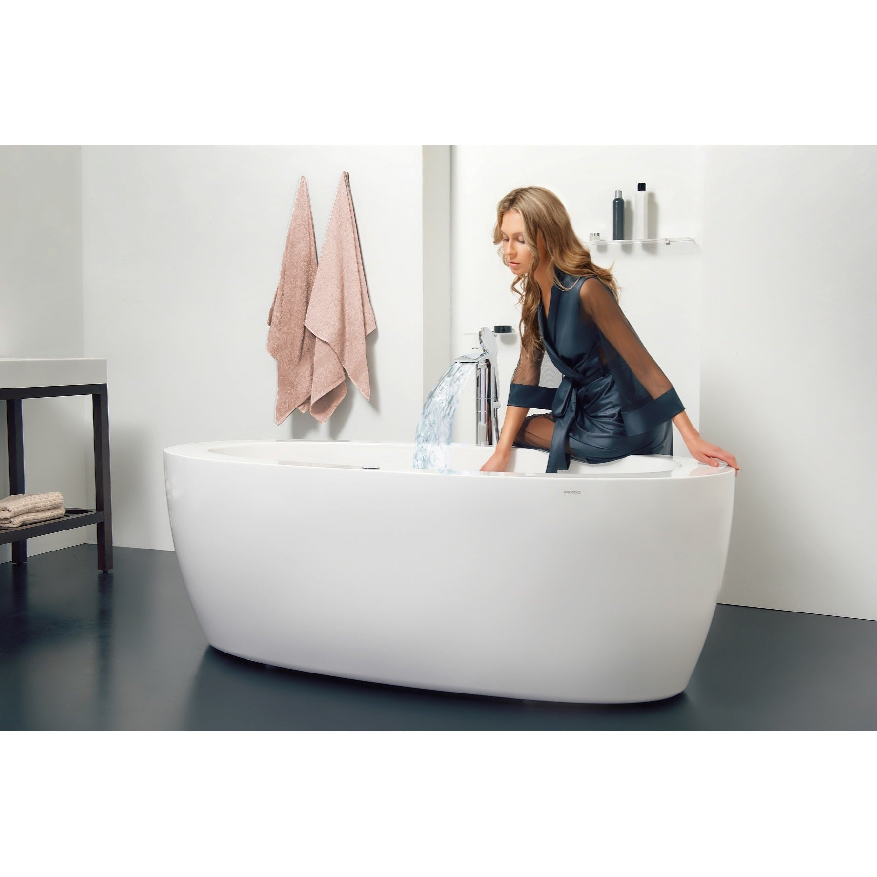 Shop Aquatica Purescape 174B Relax Air Massage Bathtub - Free ...
