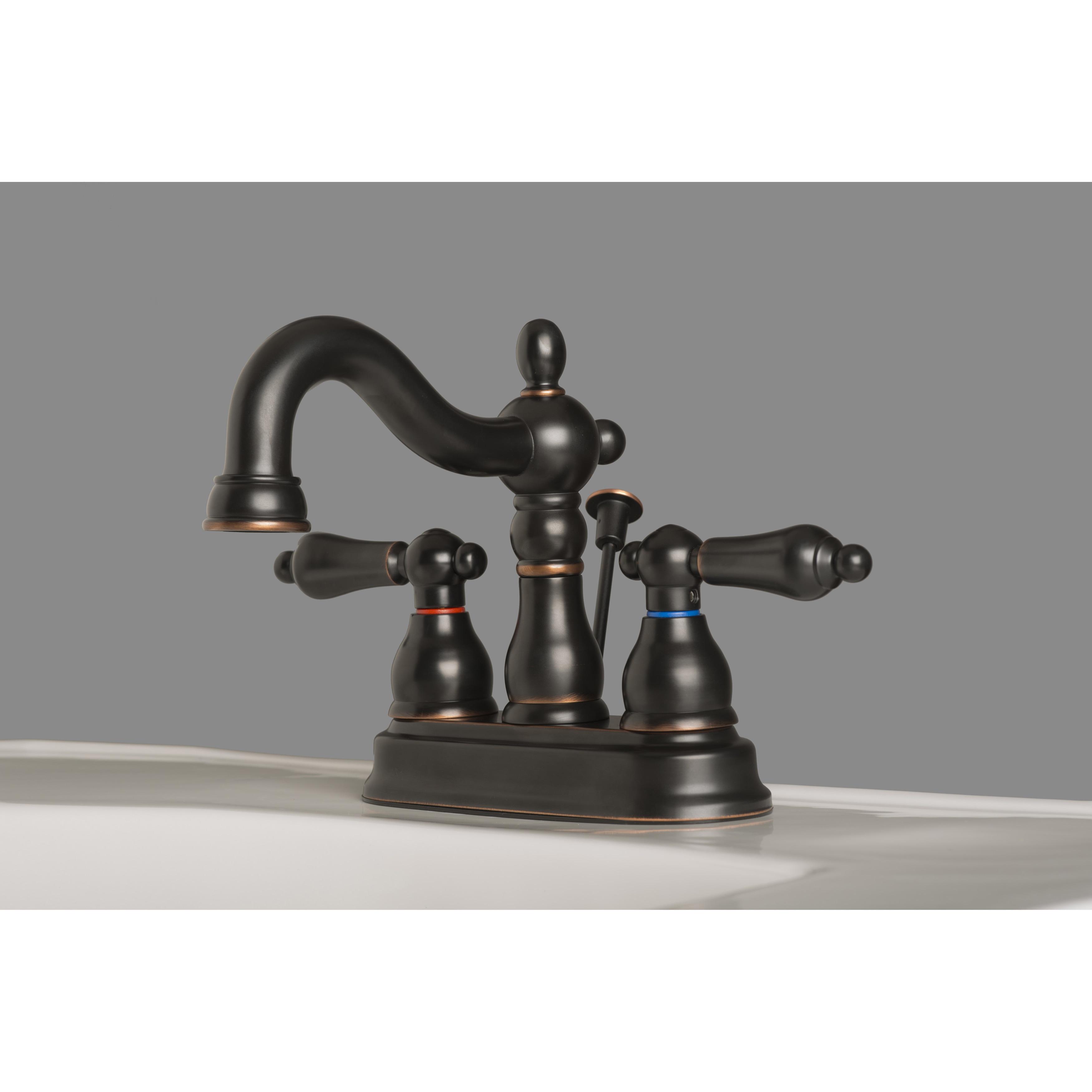 Builders Shoppe 2026 Classic Two Handle Centerset Lavatory Faucet ...