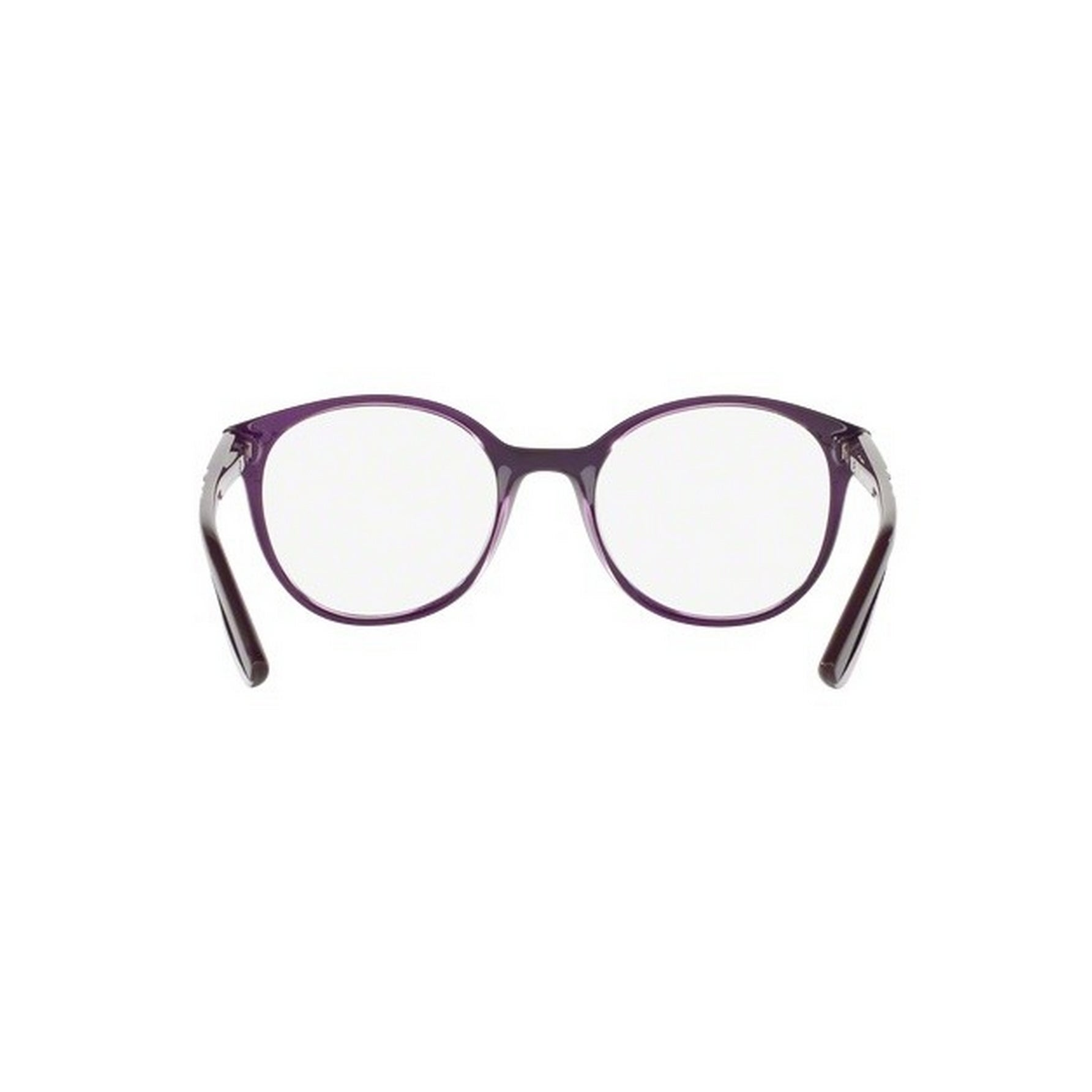 033bc313e717 Shop Vogue Women s VO5104F 2409 51 Round Plastic Purple Clear Eyeglasses - Free  Shipping Today - Overstock.com - 14777764