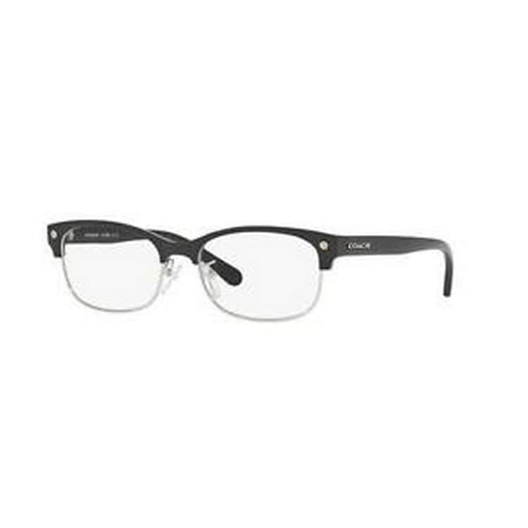 11643fb1f050 Shop Coach Women's HC6098 5432 53 Cateye Plastic Black Clear Eyeglasses -  Free Shipping Today - Overstock - 14778380