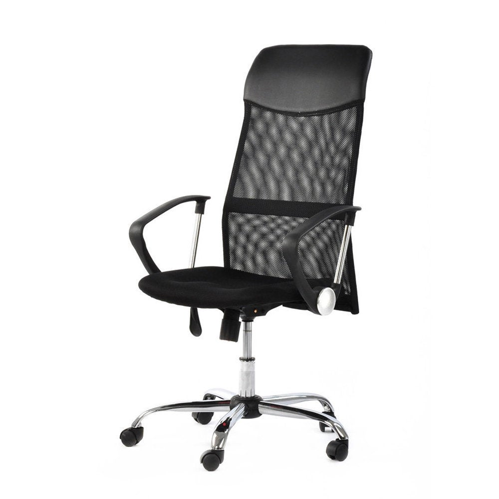 Danas Home Office Room Use Steel Five Star Feet Mesh Chair Black Free Shipping Today 14779488