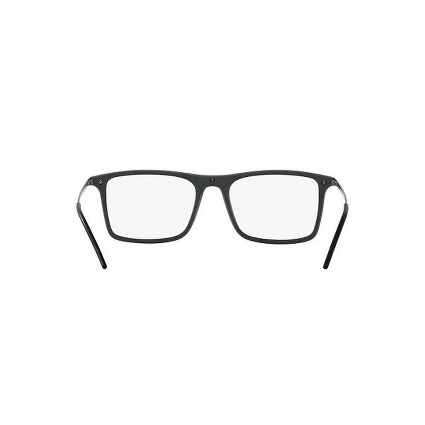 6210b149254 Shop Emporio Armani Men s EA1058 3003 53 Rectangle Metal Gunmetal Clear  Eyeglasses - Ships To Canada - Overstock - 14779649