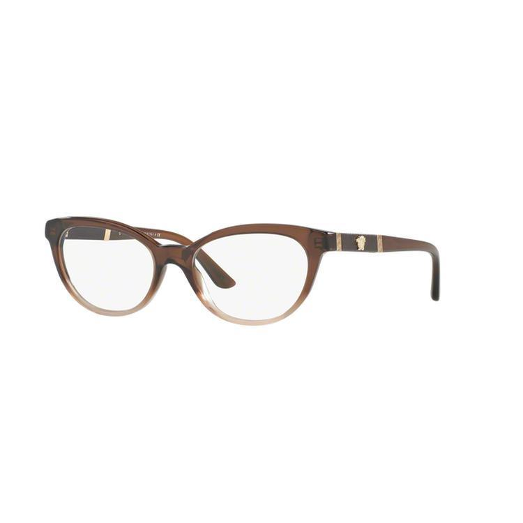 d121528a22e9 Shop Versace Women s VE3219Q GB1 54 Oval Plastic Black Clear Eyeglasses - Free  Shipping Today - Overstock.com - 14779882