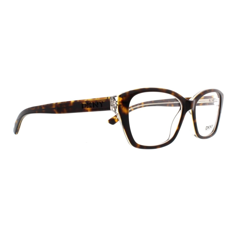 f741ddfc3b Shop Donna Karan DKNY Women s DY4668 3685 53 Cateye Plastic Blue Clear  Eyeglasses - Free Shipping Today - Overstock.com - 14779919