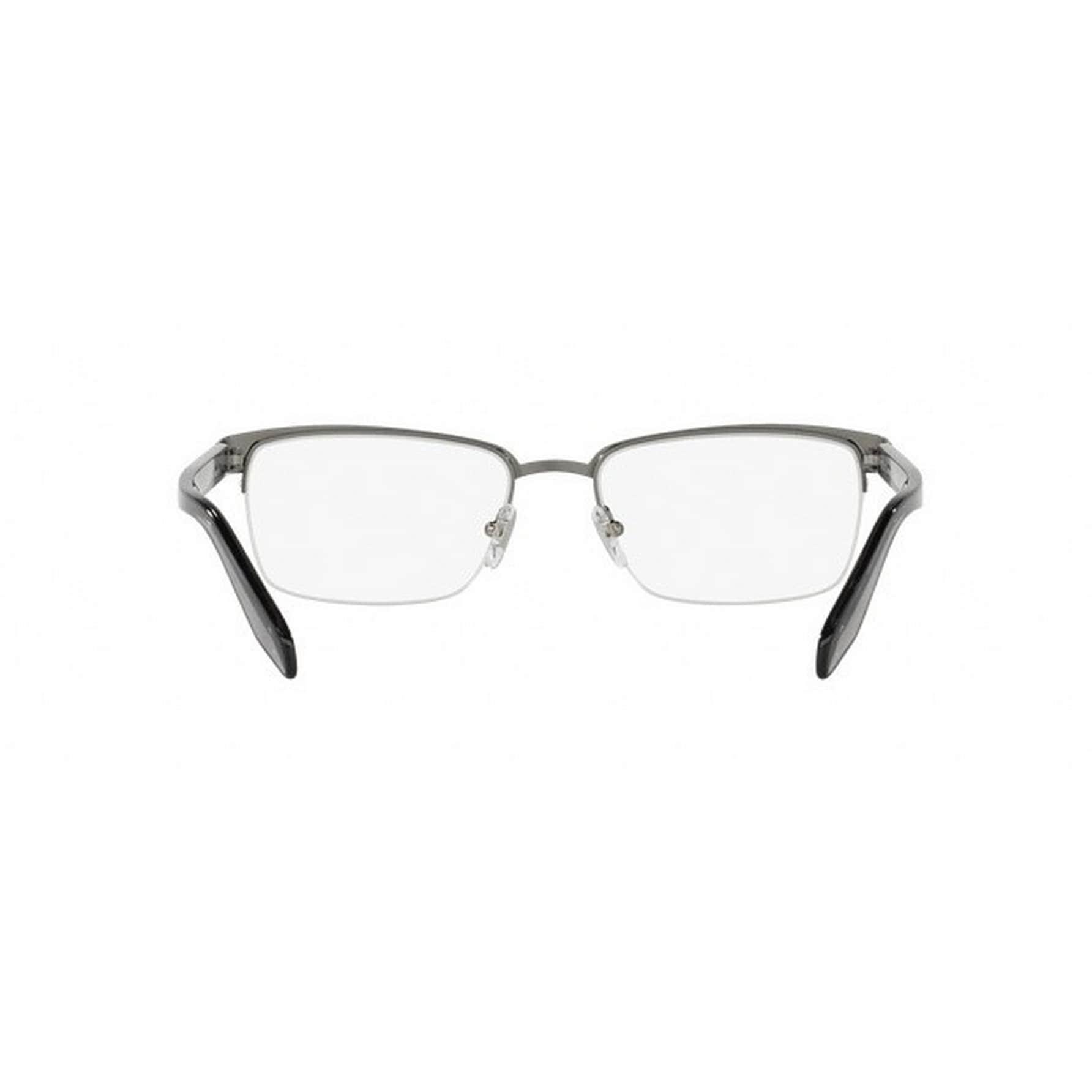 dfdd4c5eb6e Shop Versace Men s VE1241 1264 54 Rectangle Metal Plastic Gunmetal Clear  Eyeglasses - Free Shipping Today - Overstock.com - 14779976