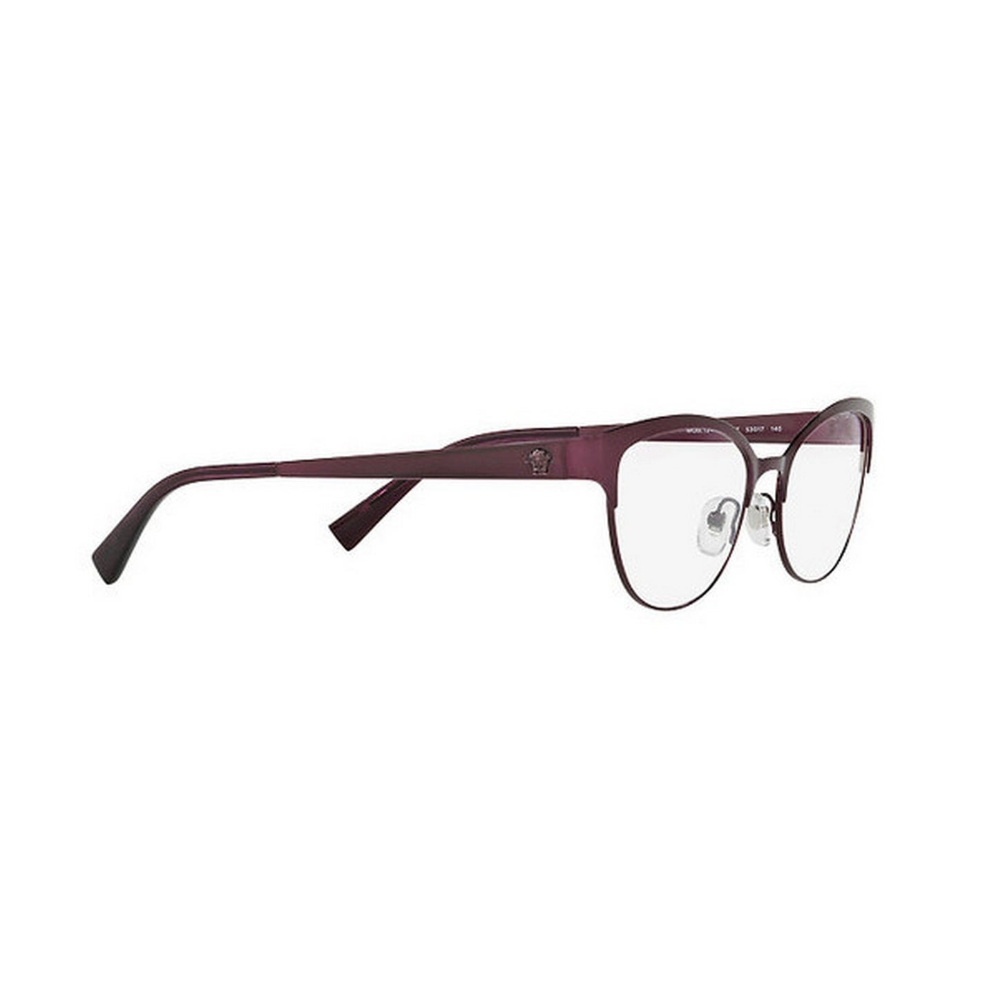 57d0d2a50b9 Shop Versace Women s VE1240 1397 53 Oval Metal Purple Clear Eyeglasses -  Free Shipping Today - Overstock - 14779986