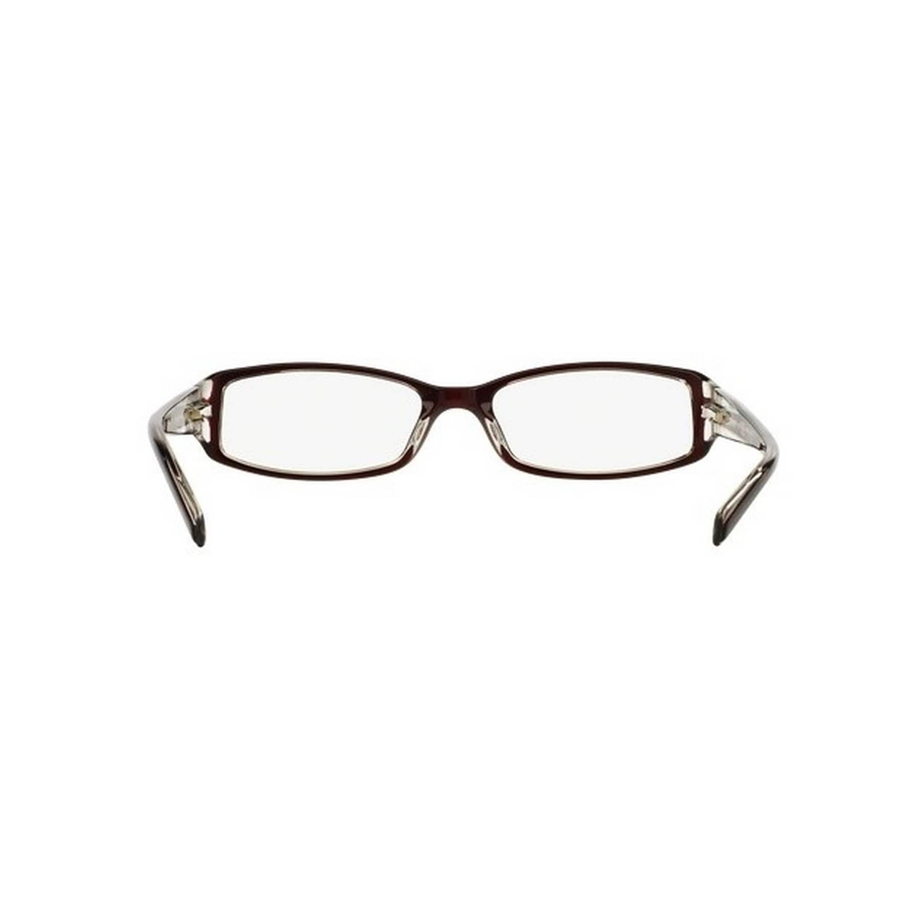 912a8a6c83e2 Shop Donna Karan DKNY Women s DY4593 3417 51 Square Plastic Red Clear  Eyeglasses - Ships To Canada - Overstock - 14780055