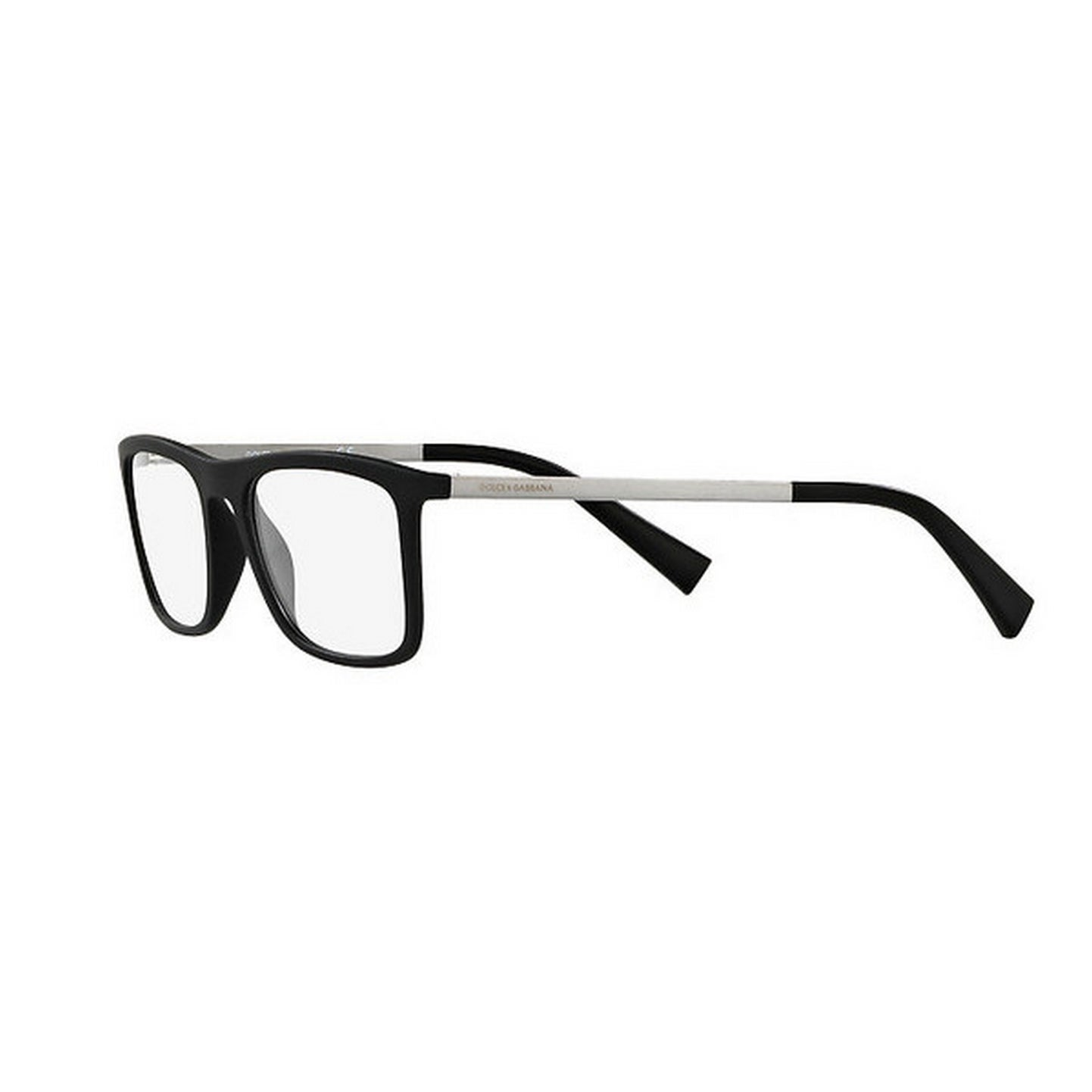 c8a4fb750466 Shop Dolce   Gabbana Men s DG5023 2805 52 Square Plastic Black Clear  Eyeglasses - Free Shipping Today - Overstock - 14780122