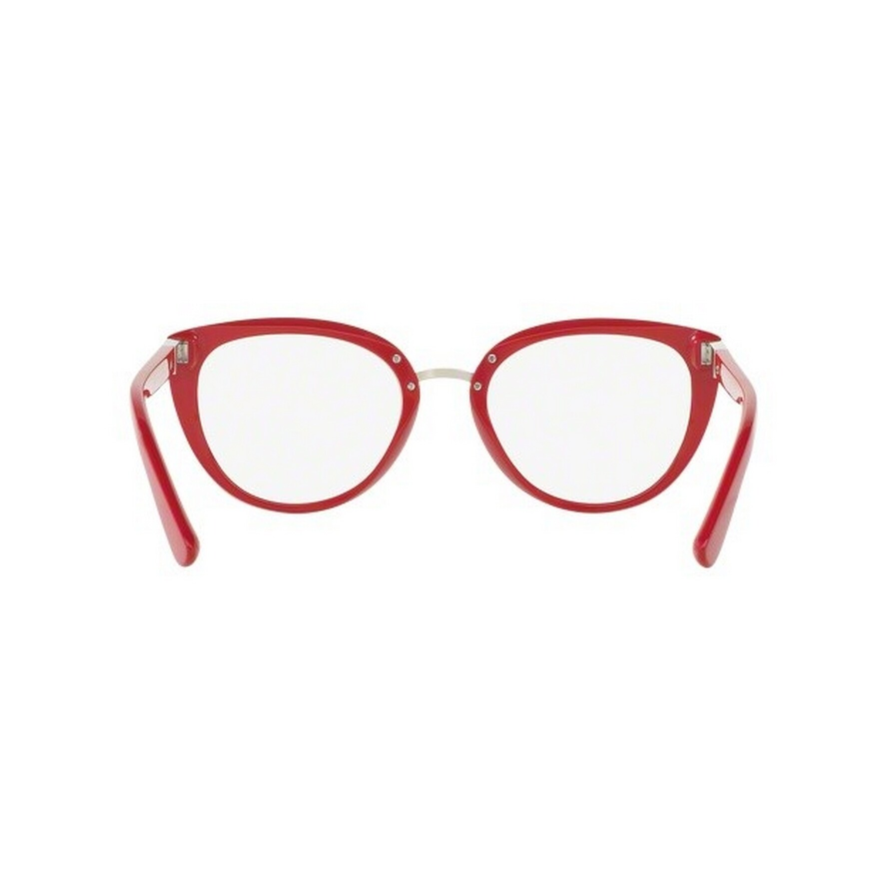 a88ae964c1 Shop Dolce   Gabbana Women s DG3262F 3097 53 Cateye Plastic Purple Clear  Eyeglasses - Free Shipping Today - Overstock - 14780615