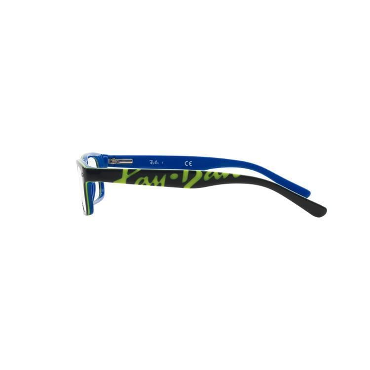 754e42c5f3b Ray-Ban Unisex RY1555 3529 48 Square Plastic Black Clear Eyeglasses - Free  Shipping Today - Overstock.com - 21302270