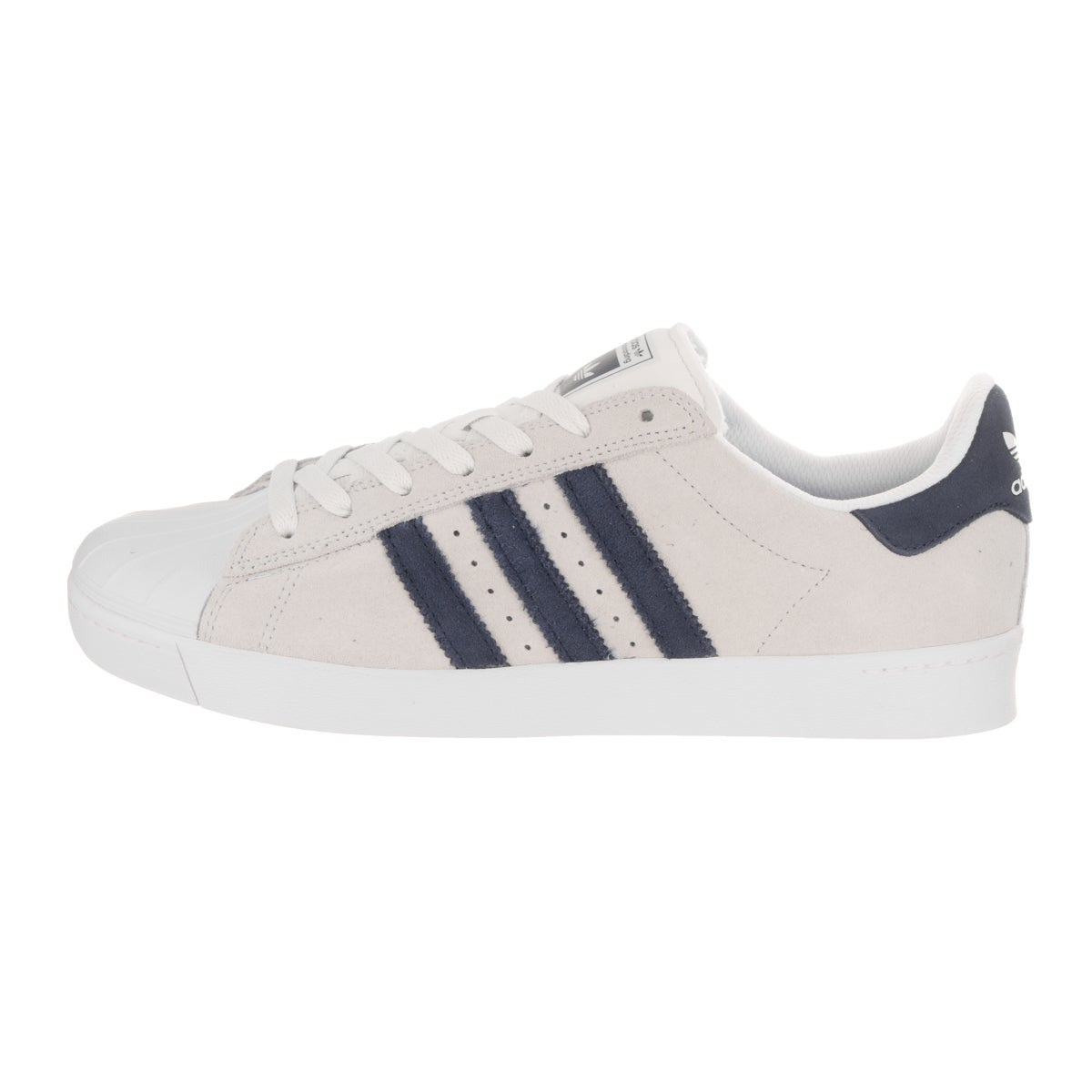 sports shoes b4d81 c5f88 Shop Adidas Men s Superstar Vulc Adv Grey Skate Shoe - Free Shipping Today  - Overstock - 14781070