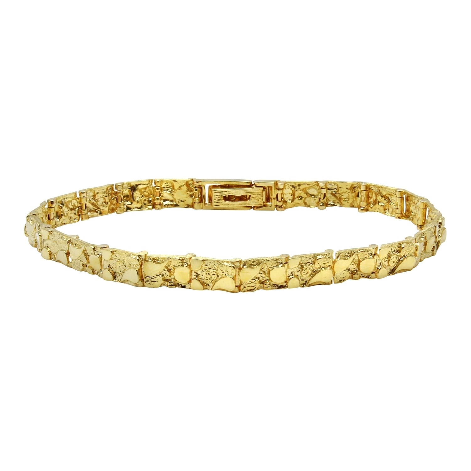 nugget bangle bangles mens products karat or gold bracelets collections en bracelet