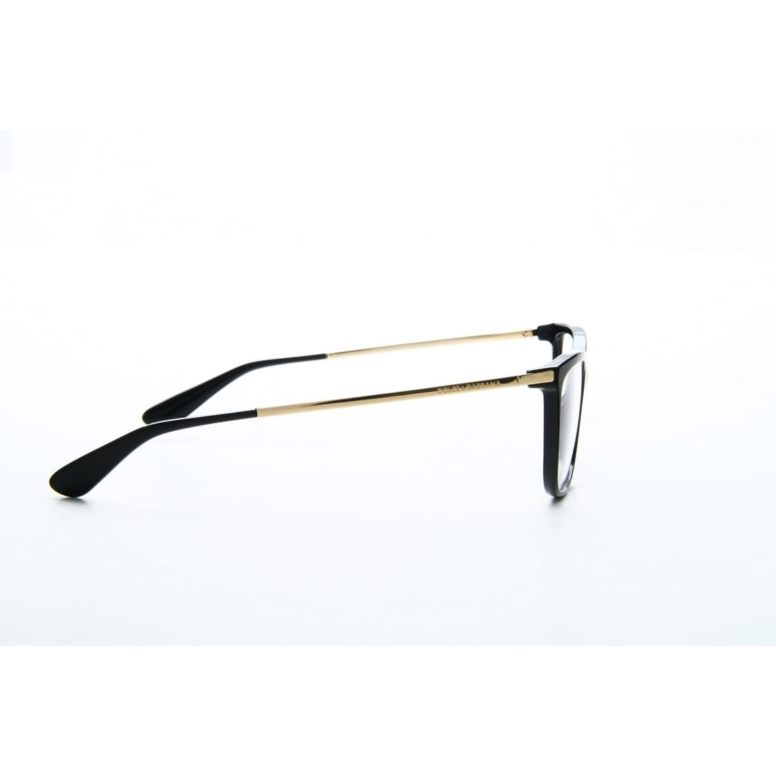 914eb5418ee Shop Dolce   Gabbana Women s DG3243 501 54 Square Metal Plastic Black Clear  Eyeglasses - Free Shipping Today - Overstock.com - 14791133