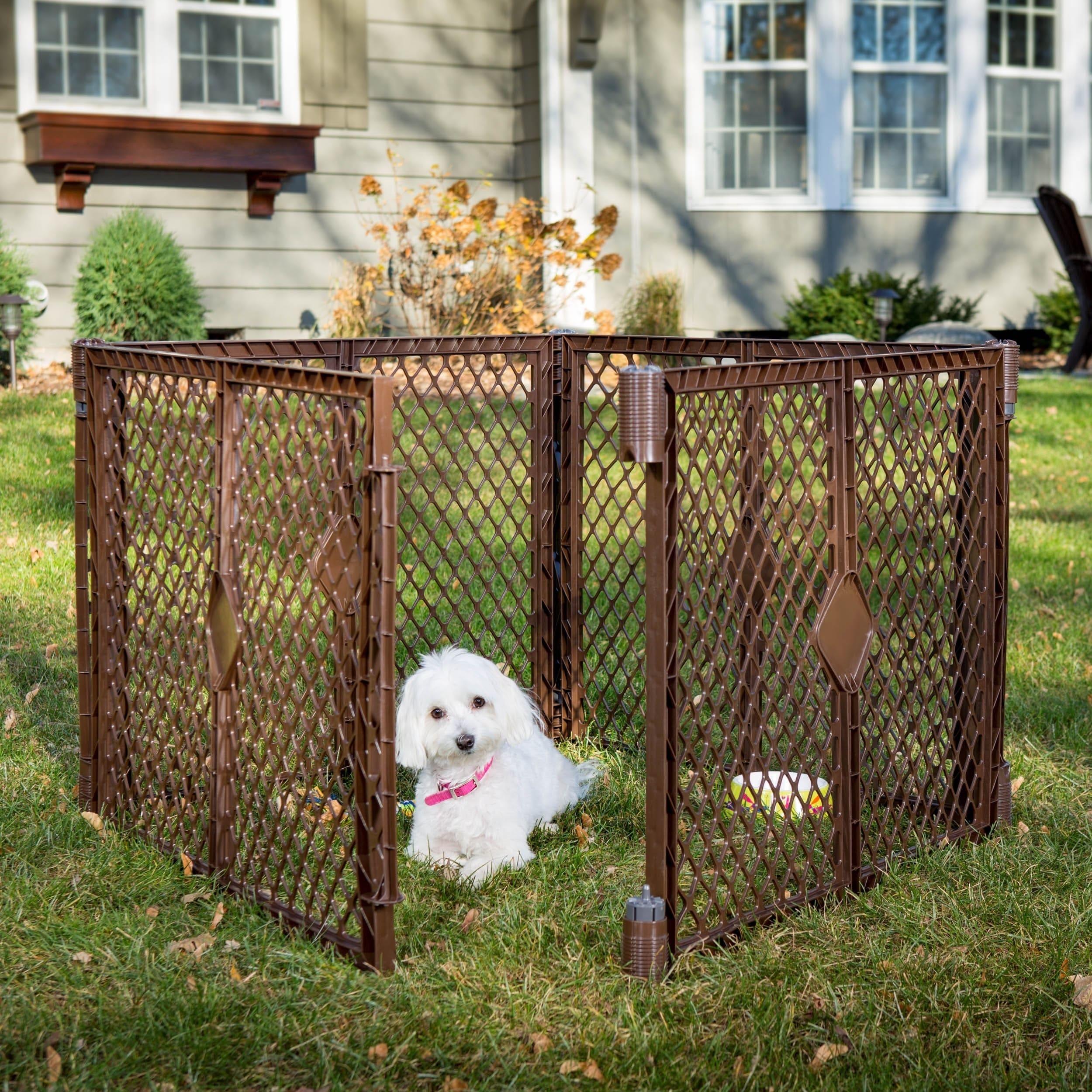 North States Stages Indoor Outdoor 4 Panel Petyard Pet Playpen
